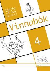 Listin að lesa og skrifa - Vinnubók 4 (rafbók)