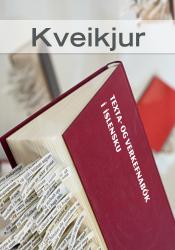 Kveikjur - Texta- og verkefnabók í íslensku (hljóðbók)
