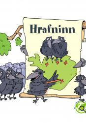 Milli himins og jarðar - Hrafninn (hljóðbók)