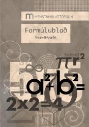 Formúlublað í stærðfræði