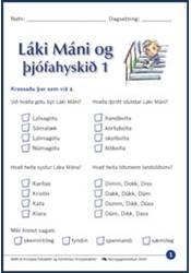 Láki Máni og þjófahyskið – Verkefni 1