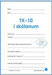 TX-10 í skólanum – Verkefni