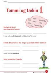 Tommi og tækin – Verkefni 1
