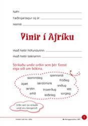 Vinir Afríku – Verkefni