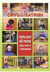 Veggspjald - Öryggisatriði