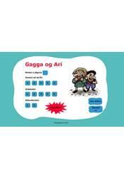 Gagga og Ari – Gagnvirk verkefni