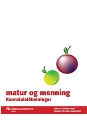 Matur og menning- Kennsluleiðbeiningar