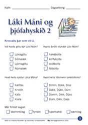 Láki Máni og þjófahyskið – Verkefni 2