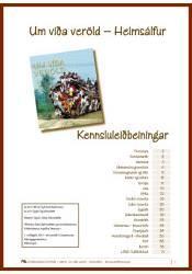 Um víða veröld – Heimsálfur, kennsluleiðbeiningar