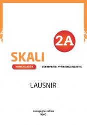 Skali 2A - Nemendabók - lausnir