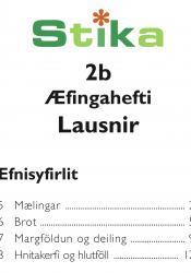 Stika 2b – Æfingahefti lausnir